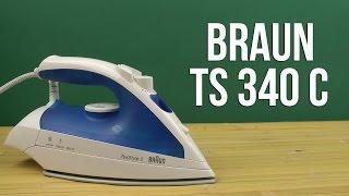 Распаковка BRAUN TS 340 C