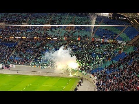 Celtic Fans in Leipzig * RB Leipzig - FC Celtic Glasgow 2018