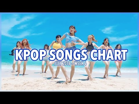 K-POP SONGS CHART | JULY 2018 (WEEK 4)