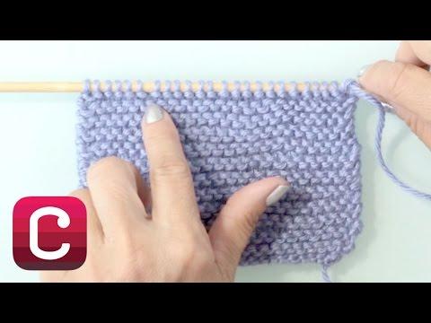 Learn to Knit Garter Stitch with Debbie Stoller | Creativebug