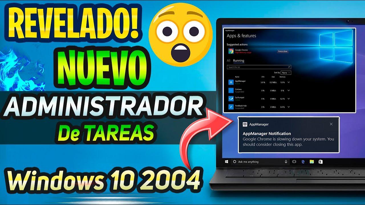 😮REVELADO! NUEVO Administrador de TAREAS para WINDOWS 10 / PROXIMO CAMBIO ⚡
