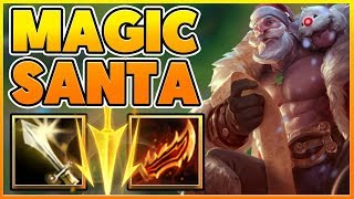 *HILARIOUS* THE ONLY WAY TO PLAY BRAUM (FULL ATTACK SPEED) - BunnyFuFuu Full Gameplay