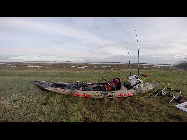 Ocean Kayak Trident 13 Camo kayak fishing Setup