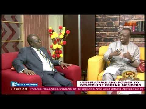Legislature and Power to Discipline Members -Good Morning Nigeria 26/04/2018