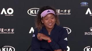 Naomi Osaka FInal Press Conference | Wide World of Sports