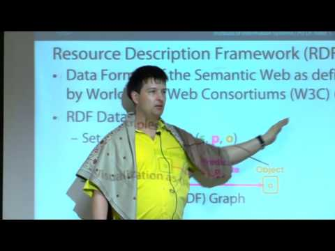 Lecture - 1 & 2 - Introduction to Semantic Web - RDF and SPARQL 1.0 by Sven Groppe