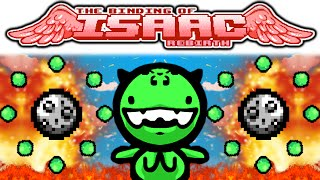 The Binding of Isaac REBIRTH: IPECAC + QUAD SHOT + LOKI