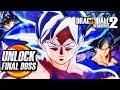 Dragon Ball Xenoverse 2 (PS4) - DLC PACK 6 - How To Unlock Ultra Instinct Goku SECRET FINAL BOSS