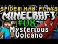 Spider-Man Play's Minecraft - Mysterious Volcano!