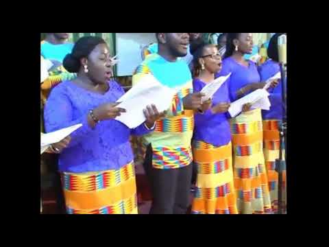 Bright Amankwah - Praise him the Lord - Performed by  Harmonious Chorale
