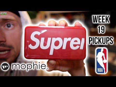 SUPREME x NBA COLLAB, MOPHIE, SNORKEL SET & MORE | WEEK 19 PICKUPS