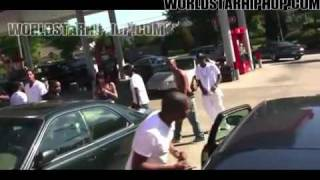 Trouble: Kat Stacks With Her Goon Yung Mazi Confronts Bart at video shoot!!