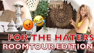 For the Haters |Roomtour Edition | Natasha Kimberly