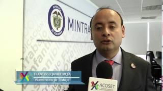 El Viceministro de Empleo y Pensiones lo invita a ver el Noticiero Acoset