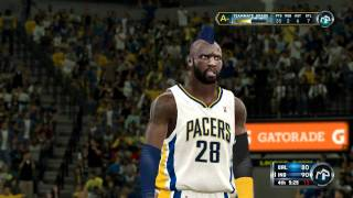 NBA 2K12 PC My Player - [8th Game] Awesome Graphics