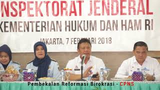 Kakanwil DKI Jakarta Berikan Pembekalan CPNS