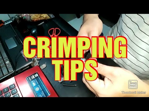 CRIMPING TIPS