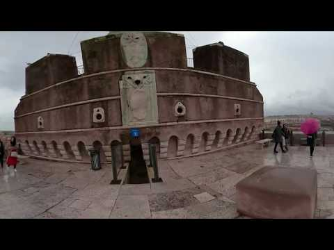 360 VIDEO: Food and Travel 360: Italy Part 2 (Vatican City/Museum, That's Amore Restaurant)