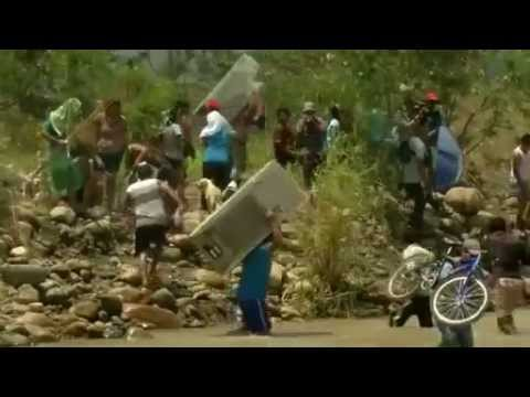 Colombians flee from Venezuela