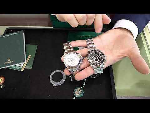 Rolex Daytona 116520 vs Rolex Daytona Ceramic 116500LN