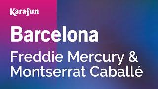 Karaoke Barcelona - Freddie Mercury *