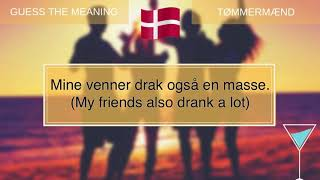 Learn Danish - Guess the meaning #4