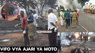 VIDEO: A TO Z Ajali ya Moto ilivyotokea na Kupoteza maisha Watu Morogoro/Roli la Mafuta lawaka
