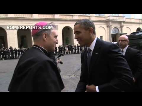 Pope Francis meets with President Obama