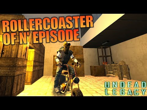 ROLLERCOASTER OF N' EPISODE | Undead Legacy 7 Days to Die | Let's Play Gameplay Alpha 16 | S01E13