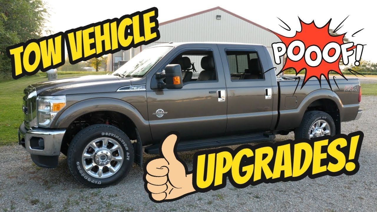truck upgrades for fifth wheel towing 2015 ford f350 super duty [ 1280 x 720 Pixel ]