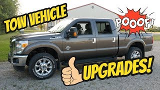 Truck Upgrades For Fifth Wheel Towing - 2015 Ford F350 Super Duty