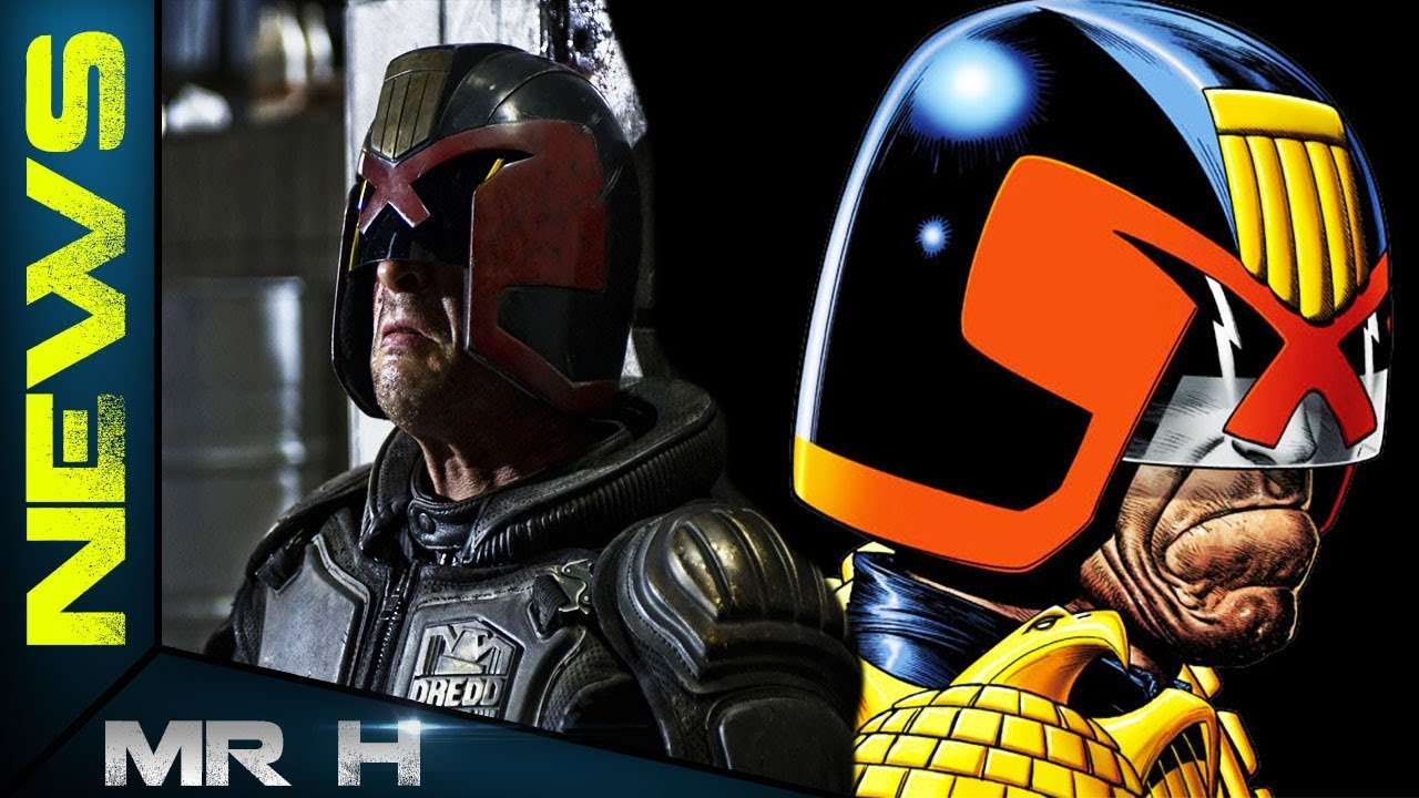 Judge Dredd TV Series NEWS UPDATE