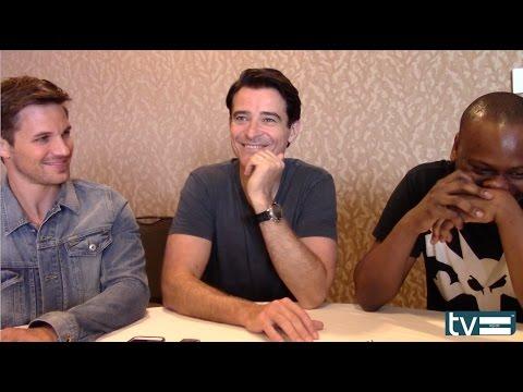 TIMELESS TV SHOW (NBC) - Matt Lanter, Goran Višnjić & Malcolm Barrett