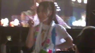 チーム8 2周年記念コンサート 沖縄県中城城跡 袖ステージ、通路付近で撮...