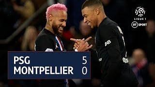 PSG v Montpellier (5-0) | Ligue 1 Highlights
