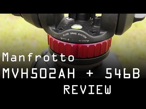 Manfrotto MVH502AH fluid head and 546B tripod review