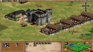 Age of Empires II - 101ª Partida Multijugador En Línea - Lucas, Tulio y Fede