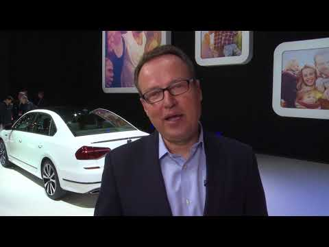 Discusses the new VW Passat GT - Hinrich Woebcken, President and CEO of Volkswagen Group of America