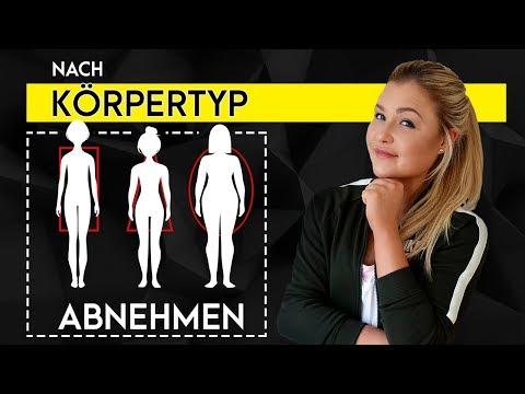 Effektiv FETT VERBRENNEN Mit Körpertyp Analyse | Typgerechte Ernährung + Training