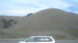 BART West Dublin / Pleasanton to Castro Valley California Bay Area Rapid Transit