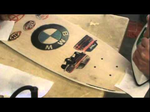 How To Iron Transfer Color Pictures To Wood Skateboard