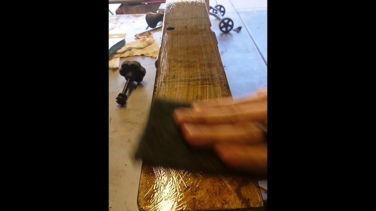 Ridgid Jointer - Light Rust removal