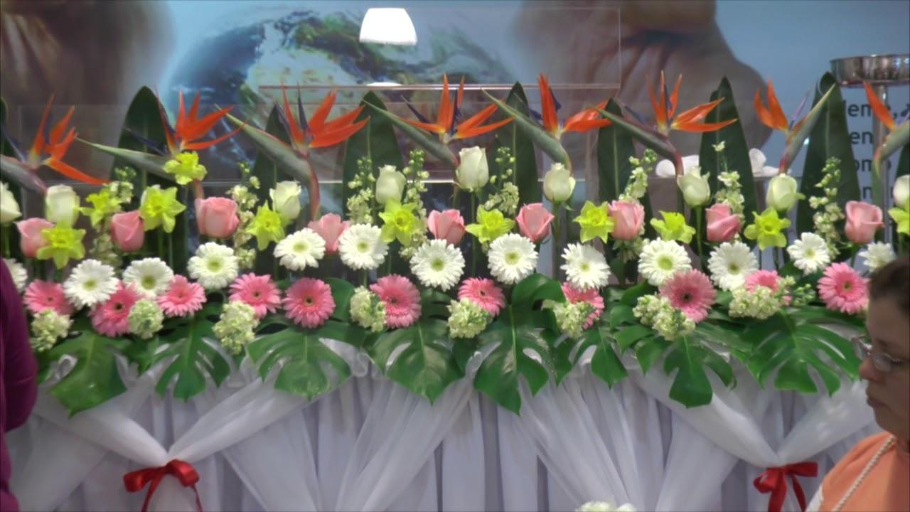 Arreglos Florales 8 Misionera Lee Iglesia Siglo Xxi