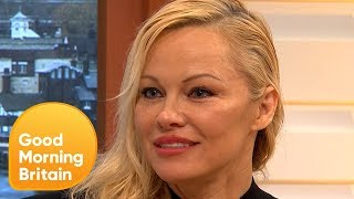 connectYoutube - Pamela Anderson Talks About Her Relationship With Julian Assange | Good Morning Britain