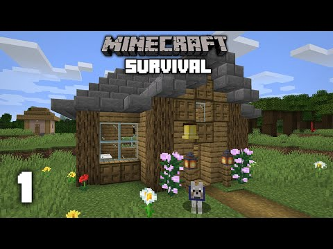 Minecraft: A New Beginning - 1.16 Survival Let's play   Ep 1