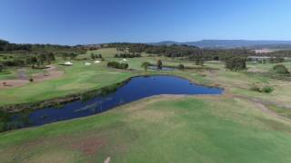 Flyover 13th Hole @ The Links Shell Cove