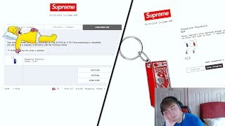 Supreme FW18 Week 2 Live Cop - A Very Slept On Week (Manual Checkout)