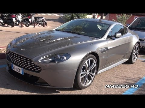 Aston Martin V12 Vantage Awesome Sound!