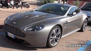 Aston Martin V12 Vantage Awesome Sound!