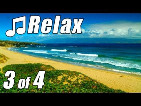 HAWAIIAN MUSIC #3 HD MAUI BEACHES Relaxing slack key guitar Instrumental Hawaii Songs Island Luau